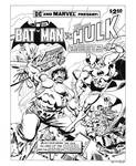 Batman vs. Hulk Cover Recreation