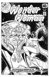 Wonder Woman #252 Cover Recreation by dalgoda7