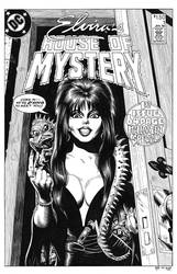 Elvira's House of Mystery #1 Cover Recreation by dalgoda7