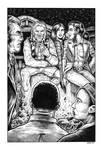 Silver Riders Illo #6 - Campfire tales