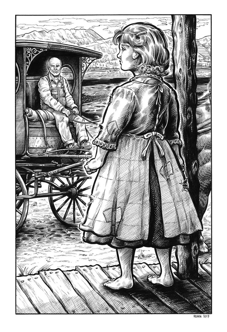 Silver Riders Illo #8 - Anne-Marie flashback by dalgoda7