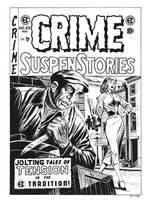 Crime SuspenStories #25 Cover Recreation by dalgoda7