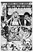 Micronauts #14 Cover Recreation by dalgoda7