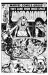 Micronauts #14 Cover Recreation