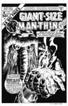 Giant Size Man-Thing #4 Cover Recreation