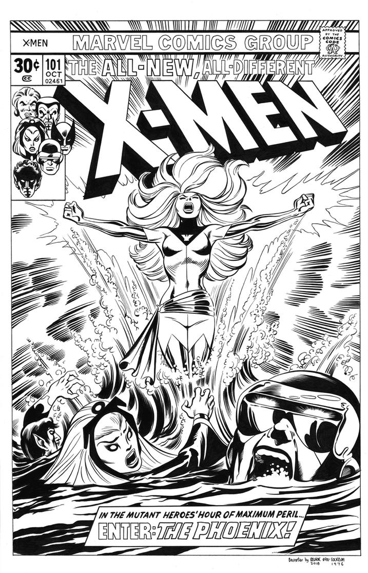 Uncanny X-Men #101 Cover Recreation by dalgoda7