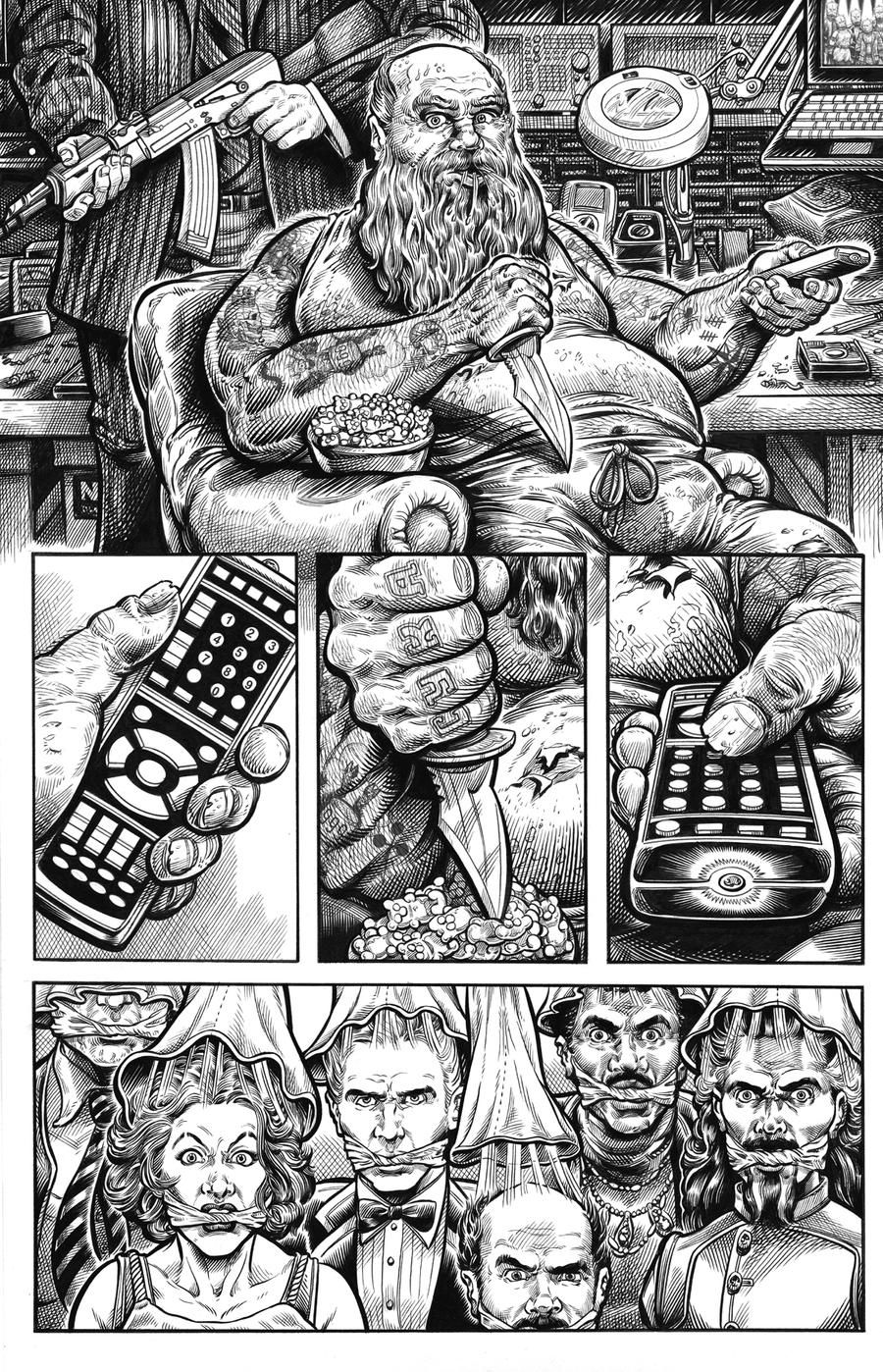 Mr. Kill: Russian Roulette, Page 3 by dalgoda7