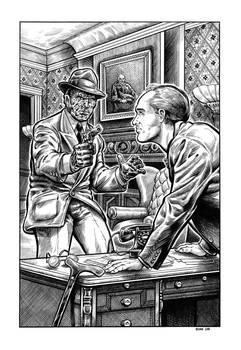 Purple Scar - The Black Fog illustration #9