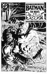 Batman #420 Cover Recreation