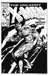 Uncanny X-Men #212 Cover Recreation
