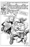 Fantastic Four #348 Cover Recreation