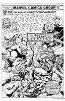 Fantastic Four #193 Cover Recreation by dalgoda7