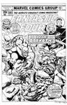 Fantastic Four #193 Cover Recreation