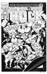 Incredible Hulk #415 Cover Recreation
