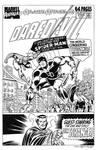 Daredevil Annual #4 Cover Recreation