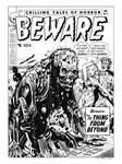 Beware #6 Cover Re-interpretation