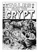 Tales from the Crypt #35 Cover Recreation by dalgoda7