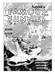 Famous Funnies #214 Cover Recreation