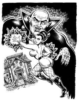 Bad Karma Book 1 cover inks