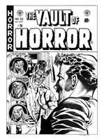 Vault of Horror #32 Cover Recreation by dalgoda7