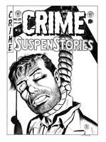 Crime SuspenStories #20 Cover Recreation by dalgoda7