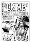 Crime SuspenStories #22 Cover Recreation