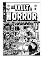 Vault of Horror #35 Cover Recreation by dalgoda7