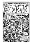 Conan #24 Cover Recreation