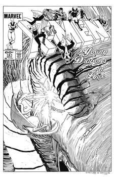 Uncanny X-Men #181 Cover Recreation