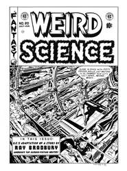 Weird Science #20 Cover Recreation by dalgoda7