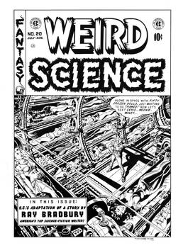 Weird Science #20 Cover Recreation