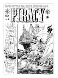 Piracy #3 Cover Recreation by dalgoda7
