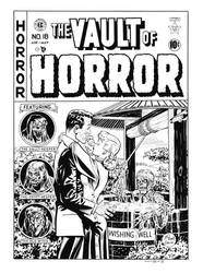 Vault of Horror #18 Cover Recreation by dalgoda7