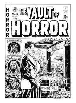 Vault of Horror #18 Cover Recreation