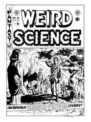 Weird Science #14 Cover Recreation by dalgoda7