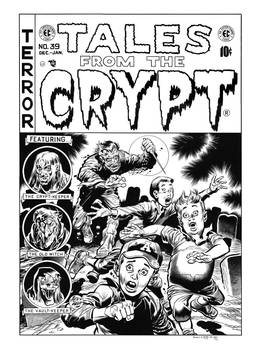 Tales From the Crypt #39 Cover Recreation