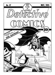 Detective #27 Cover Recreation