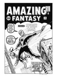 Amazing Fantasy #15 Cover Recreation