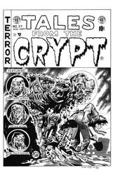Tales from the Crypt #37 Cover Recreation