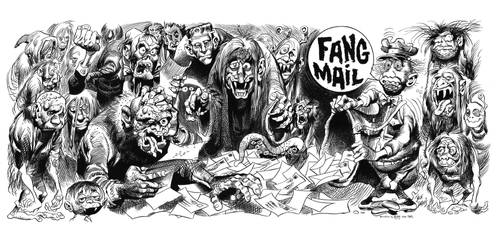 Fang Mail Famous Monsters recreation