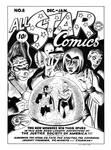 All Star Comics #8 Cover Recreation