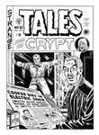 Tales From the Crypt #21 Cover Recreation