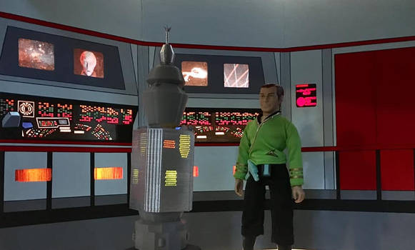USS Enterprise NCC-1701 Bridge diorama