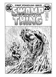 Swamp Thing #1 Cover Recreation
