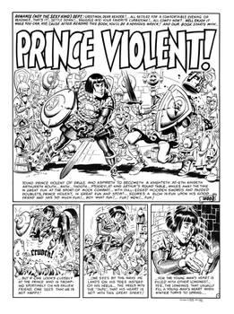 Prince Violent (MAD #13) Splash Recreation