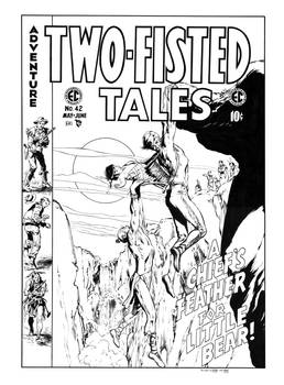 Two-Fisted Tales #42 Cover Re-Imagining