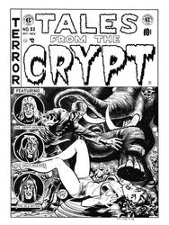 Tales From the Crypt #32 Cover Recreation by dalgoda7
