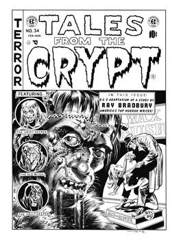 Tales From the Crypt #34 Cover Recreation