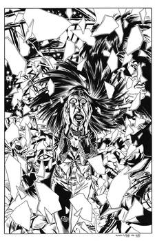Kiss Psycho Circus #4 Cover Recreation