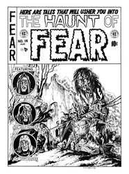 Haunt of Fear #14 Cover Recreation by dalgoda7